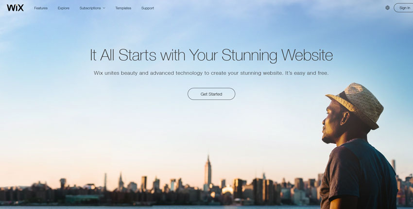 wix - An All Beginners Guide to Building a Website: The 7 Best Platforms to Build Your First Website On